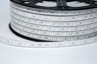 China SMD 5050 LED Flexible Strip Lights , IP68 RGB Flexible LED Neon Rope Light supplier