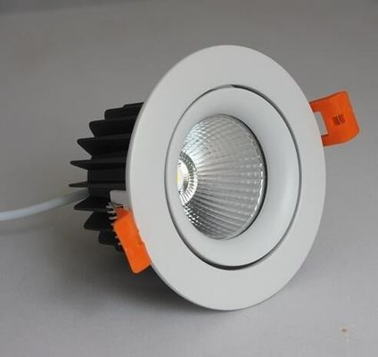 China Aluminum Alloy Recessed Adjustable Led Downlights 9W 12W 20W With CREE COB Chip supplier