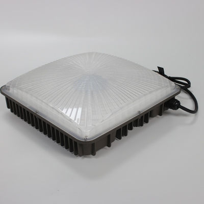 China Aluminum Heatsink Led Canopy Lights For Gas Station / Petrol Station UL Dlc Listed supplier