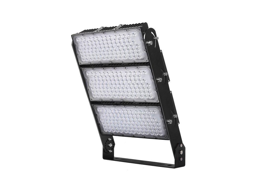 Commercial Outdoor Led Flood Lights 300w 1200w With Tempered Glass Cover